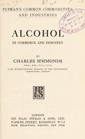 view Alcohol in commerce and industry