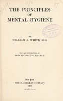 view The principles of mental hygiene
