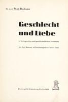 view Geschlecht und Liebe in biologischer und gesellschaftlicher Beziehung : mit fünf Kurven und sechzehn Zeichnungen.