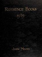 view Reference books : a classified and annotated guide to the principal works of reference