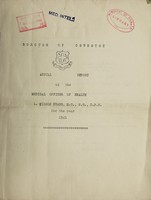 view [Report 1941] / Medical Officer of Health, Oswestry Borough.