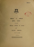 view [Report 1944] / Medical Officer of Health, Oswestry Borough.