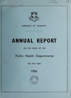 view [Report 1956] / Medical Officer of Health, Oswestry Borough.