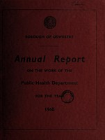view [Report 1960] / Medical Officer of Health, Oswestry Borough.