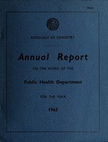 view [Report 1963] / Medical Officer of Health, Oswestry Borough.