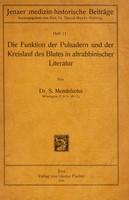 view Die Funktion der Pulsadern und der Kreislauf des Blutes in altrabbinischer Literatur