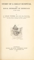 view Story of a great hospital : the Royal Infirmary of Edinburgh ; 1729-1929