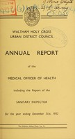 view [Report 1952]