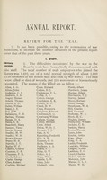 view Annual report for the year 1918 : (21st year of issue) / Metropolitan Asylums Board.