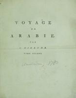 view Voyage en Arabie et en d'autres pays circonvoisins