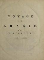 view Voyage en Arabie et en d'autres pays circonvoisins / par C. Niebuhr ... Traduit de l'allemand [by F.L. Mourier].