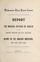 view [Report of the Medical Officer of Health for Walthamstow (London, England) UDC 1906]