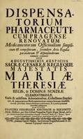 view Dispensatorium pharmaceuticum Pragense renovatum medicamentorum officinalium simplicium et compositorum ... parandorum et dispensandorum rationem exponens ... Variis ... adnotationibus ... provisum ... et a praescriptionum erroribus castigatum.