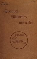 view Quelques silhouettes médicales.