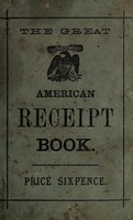 view The great American receipt book.
