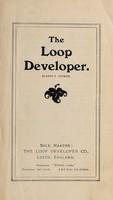 view The loop developer : Blakoe's patent / sole makers: the Loop Developer Co.