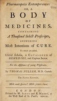 view Pharmacopoeia extemporanea: or, a body of medicines