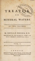 view A treatise on mineral waters / [Donald Monro].