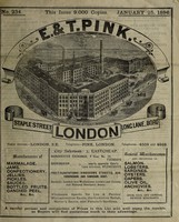 view [E. & T. Pink's prices current]. No. 234, January 25, 1896