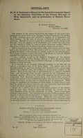 view Dr. G.S. Buchanan's report to the Local Government Board on the sanitary condition of the county borough of West Bromwich, and on prevalence of enteric fever there / [G.S. Buchanan].