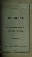 view L'eloge de Dolbeau