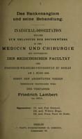 view Das Rankenangiom und seine Behandlung ...