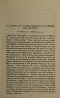view Salvarsan and other remedies in ophthalmic practice / by Freeland Fergus.
