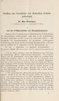 view Studien zur Geschichte der deutschen Gehirnpathologie / von Max Neuburger.