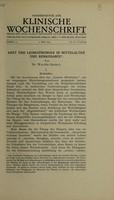 view Arzt und Leibesübungen in Mittelalter und Renaissance / von Walter Artelt.