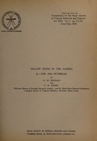 view Yellow fever in the Gambia / by G.M. Findlay and T.H. Davey.