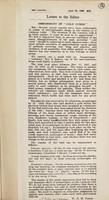 """view Assessment of """"cold cures"""" : [letter to the editor of """"The Lancet""""] / W.D.M. Paton, F. Fulton, C.H. Andrewes."""