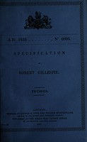 view Specification of Robert Gillespie : trusses.
