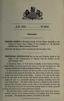 view Specification of Frederick Smith : furnaces.
