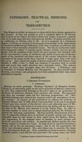 view Report on the progress of pathology, practical medicine, and therapeutics; for the years 1842-3-4