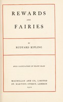 view Rewards and fairies / by Rudyard Kipling ; with illustrations by Frank Craig.