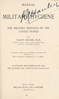 view Manual of military hygiene for the military services of the United States