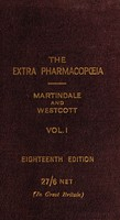 view The extra pharmacopœia of Martindale and Westcott.