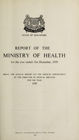 view Report of the Ministry of Health