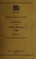 view Annual report of the Health Division