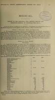 view Report of the Principal Civil Medical Officer and Inspector-General of Hospitals / [Ceylon].