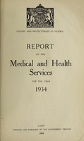view Annual medical and health report / Nigeria.